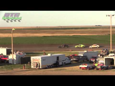 IMCA Sport Compact A Feature Wakeeney Speedway 7 27 14