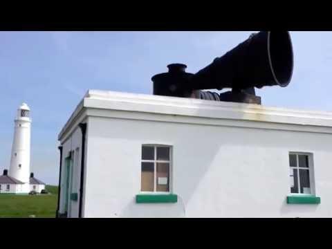 Nash Point Lighthouse - Fog Horn