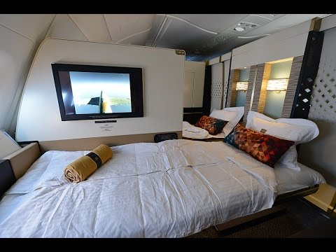 Complete Etihad First Class Apartment Experience onboard A38