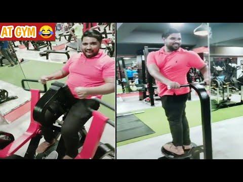 Naushad khan Doing gym😂 Watta pyara gym bangloreentertainers