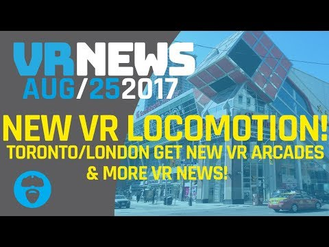 OCULUS & CRYTEK DEVELOPING NEW VR LOCOMOTION TECHNIQUES - VR Arcades Open in Toronto and London