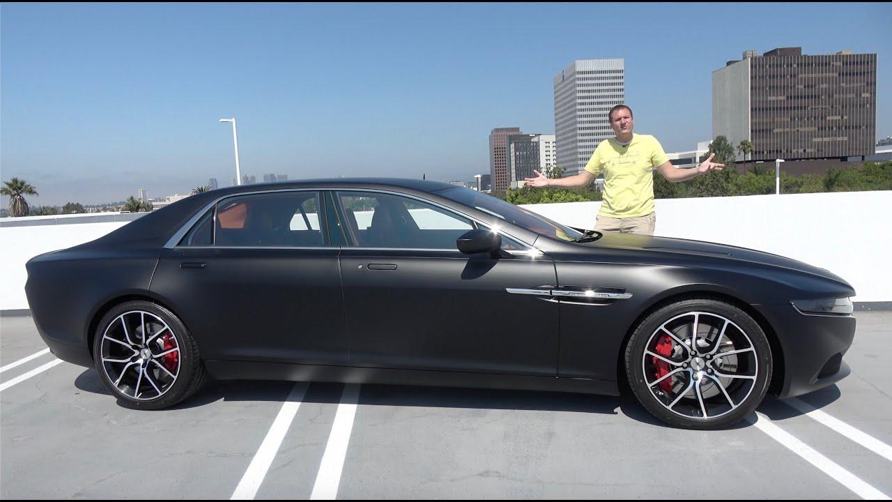 The Aston Martin Lagonda Taraf Is The World S Most Expensive Luxury Sedan Youtube