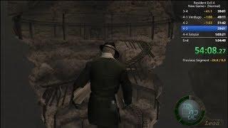 Resident Evil 4 Speedrun NG+ Normal 1:31:26 [30 fps]