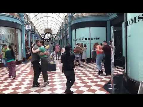 Lindy Hop at the Great Western Arcade Birmingham