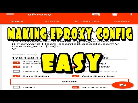 TUTORIAL101👆MAKE EPROXY CONFIGURATION