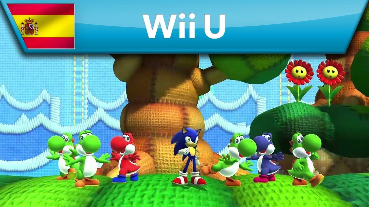 Contenido adicional de Sonic Lost World - Tráiler (Wii U)