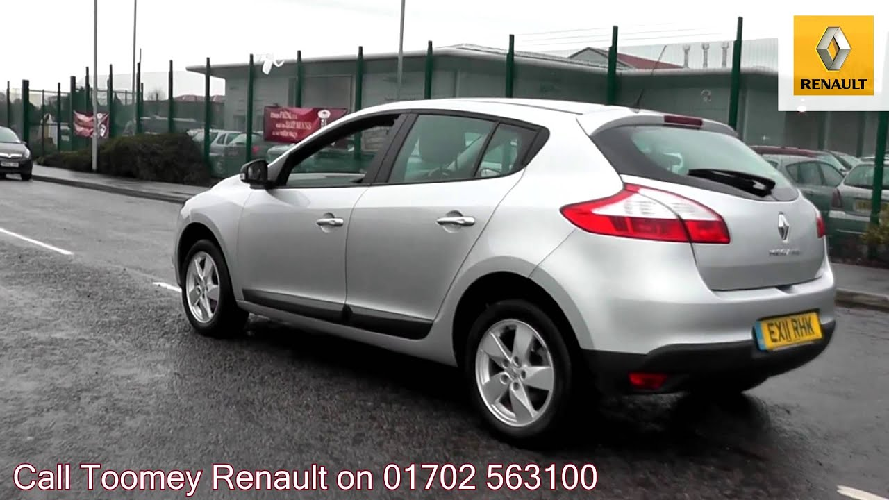 2011 renault megane generation silver metallic ex11rhk for sale at toomey renault southend. Black Bedroom Furniture Sets. Home Design Ideas