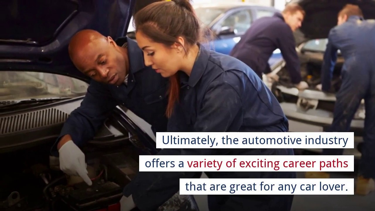 Best Careers in the Automotive Industry - YouTube