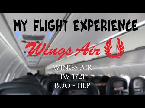 MY FLIGHT EXPERIENCE (FLIGHT REPORT) - E38 - WINGS AIR ECONOMY CLASS | BDO - HLP