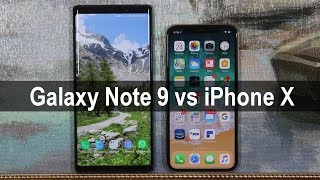 Samsung Galaxy Note 9 vs iPhone X: The Winner Is Revealed