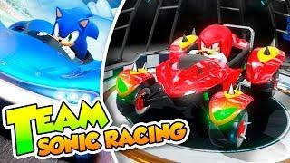 ¡Adelante equipo Sonic! - 01 - Team Sonic Racing (PS4 PRO) DSimphony