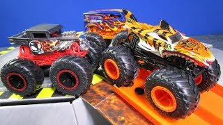 Hot Wheels Monster Trucks Promotional Custom Introductory Kit For Influencers