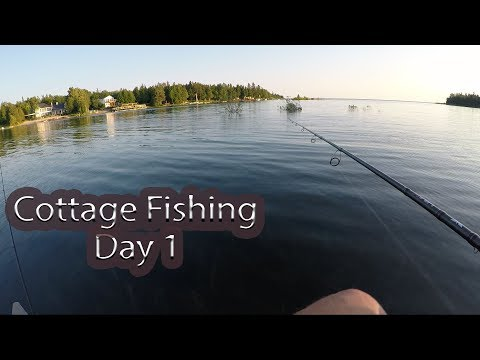 Day 1/6 - The Fishing Has Just Begun.