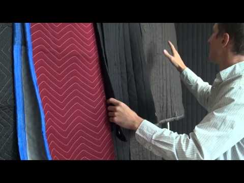 Review of Sound blankets to use for Acoustic room treatment in a recording studio
