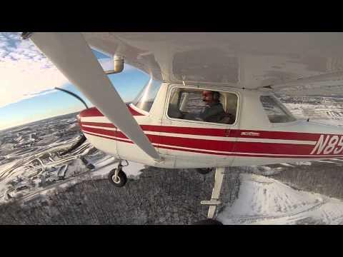 University of Nebraska - Omaha Flight Team Practice 2-3-13.mov