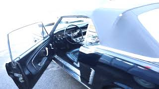 1964 1/2 Ford Mustang Convertible Start Up