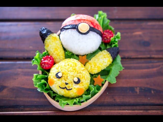 Pokémon GO-Kawaii Pokemon Rice Balls Bento