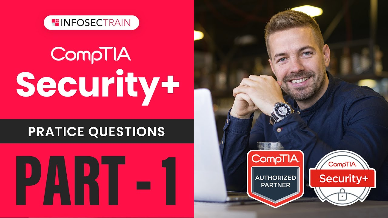 PART1 : #Security+ 601  Sample Questions |  #COMPTIA Security+ Questions by Sanyam Negi