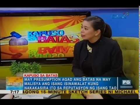 Atty. Gaby Concepcion discusses grounds for online libel | Unang Hirit