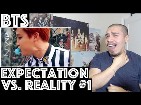 BTS Expectation VS. Reality Reaction Part 1