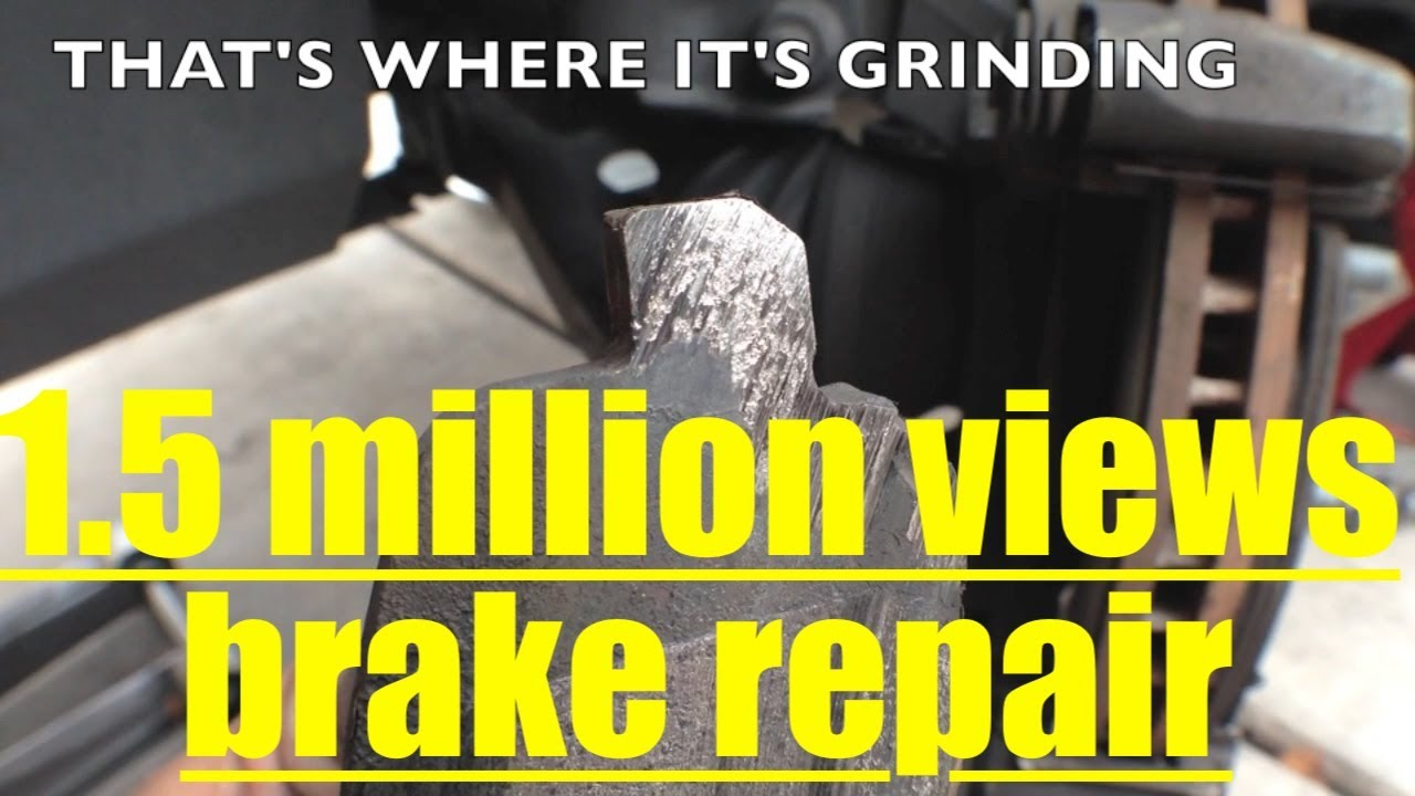 Grinding Noise Front Brake Pad Replacement Resurface