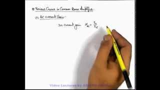 15. Physics | Transistor And Its Application | Common Base Amplifier | by Ashish Arora (GA)
