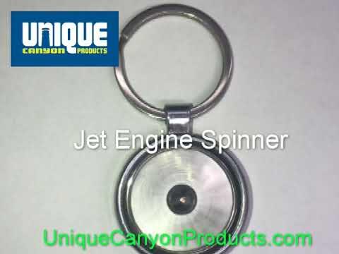 Jet Turbine Engine  Keychain Key Chain