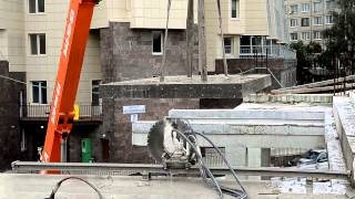 видео Демонтаж бетонных конструкций в Барнауле