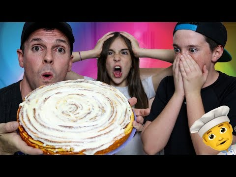 THE WORLD'S BIGGEST CINNAMON ROLL?!