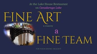 Join the Art of Lake House Dining