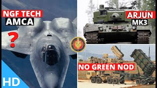 Indian Defence Updates : 50 Ton Arjun-MK3 FMBT,6th Gen NGF Tech For AMCA,Godrej Tejas Actuator Clear