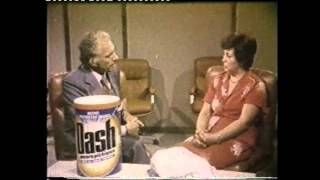 Spot P&G Dash e Mastro Lindo (1967-1992) con Mike Bongiorno e Paolo Ferrari
