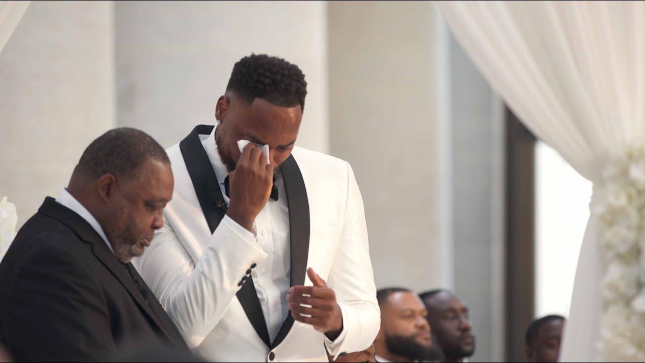 Download Emotional Black Wedding Ceremony 😭😭😭 DESHAUN & JASMINE 😳😳😳 ANDREY SOLO FILMS