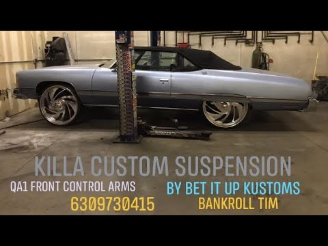74 CHEVY Part 2 frame work and custom suspensions by Bet It Up Kustoms