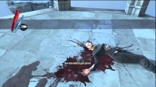 """Dishonored - """"Somewhere Else"""" The Outsider Introduction, Blink Ability, Died, HD Gameplay PS3"""
