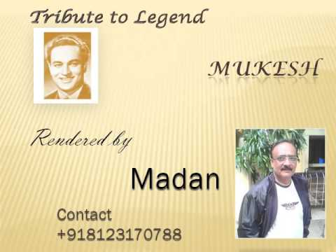 Deewan Se Ye Mat Poocho Karaoke by Madan Mukesh