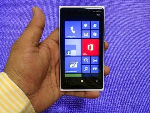 Lumia 920 (White)  Unboxing