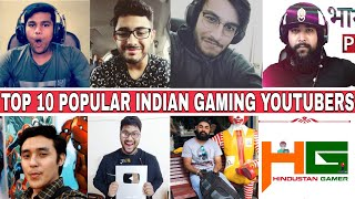 Top 10 Popular INDIAN GAMING Youtubers |2018| Beastboyshub Vs Carryislive