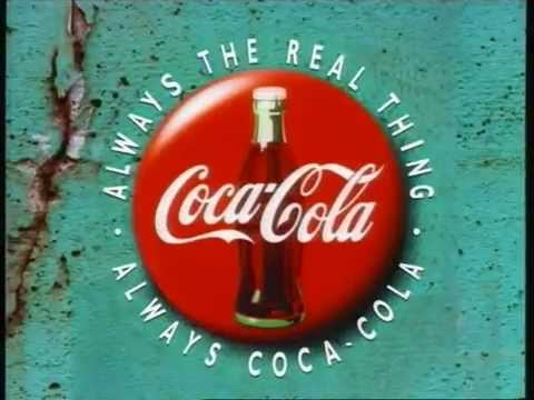 COCA-COLA Ad From The 1990's