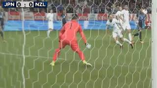Japan vs New Zealand 2:1 | All Goals 06.10.2017 | Kirin Cup 2017 | 日本対ニュージーランド2:1