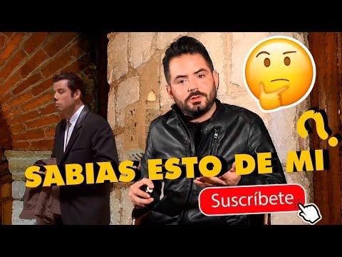 ¡COSAS QUE NO SABÍAN DE MI! | José Eduardo Derbez