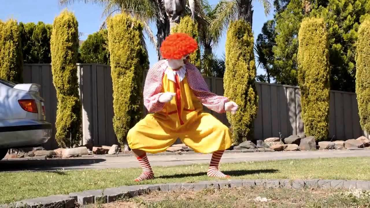 Ronald McDonald UFC Fight Revenge Senior Citizen - YouTube