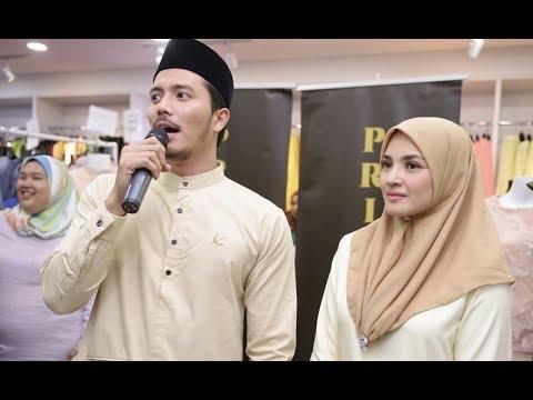 Shopping Raya Bersama Fattah Amin & Nur Fazura di Primavalet