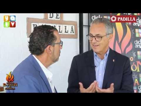 Juan Lozano Presidente de Mancomunidad en El Fogón de Padilla