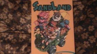 Sandland Manga Review