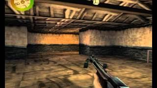 Прохождение Medal of Honor: Underground - Часть 9 [Собаки с автоматом, камикадзе и рыцари] (Финал)