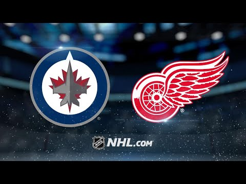 Red Wings rebound with 5-1 win against Jets
