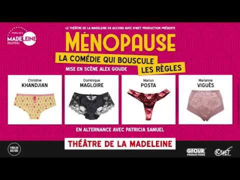 """Vidéo """"Ménopause - La comédie qui bouscule les règles"""" de Alex Goude"""