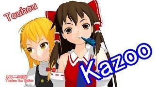 Touhou MMD - Touhou Kazoo