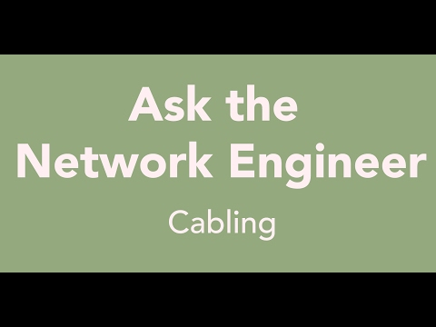 ANE Series Episode 65: Cabling